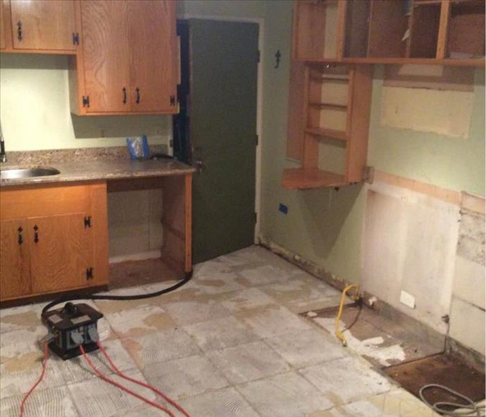 SERVPRO Restores Kitchen in Chico, CA Before
