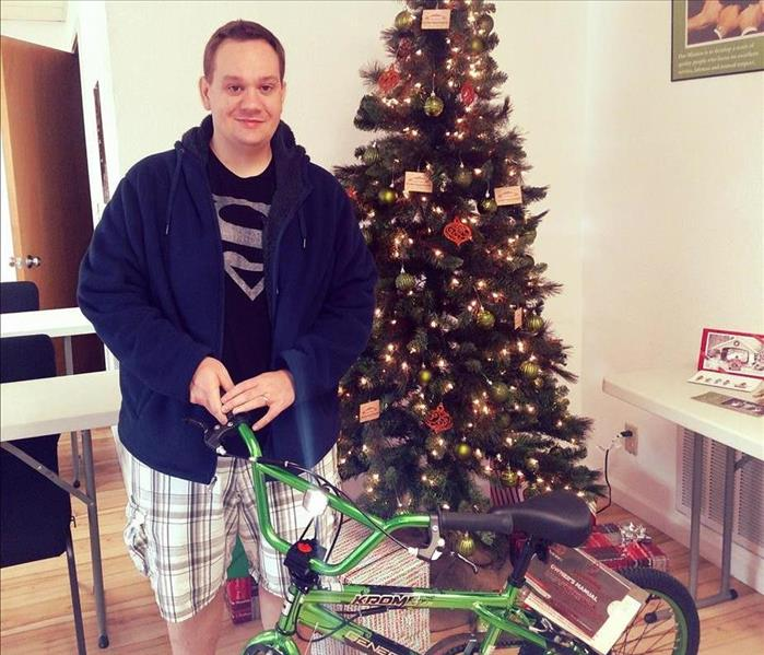 2016 Winner of the Bike Raffle