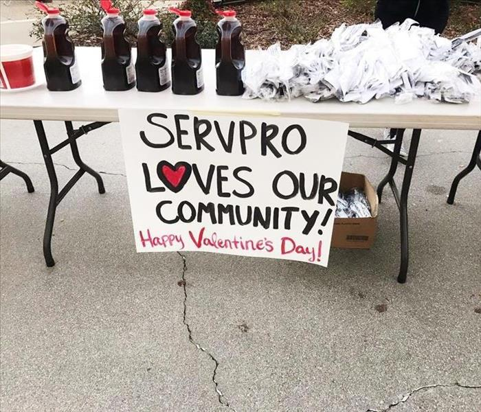 SERVPRO Loves This Community!