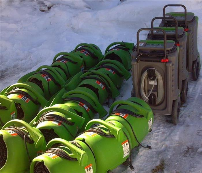 SERVPRO is Ready to Act During the Winter Months