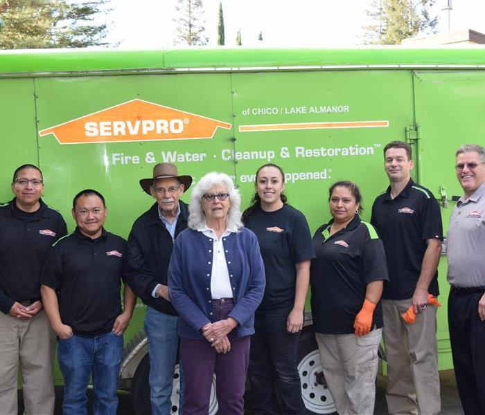 SERVPRO of Chico/Lake Almanor Makes Another Happy Customer
