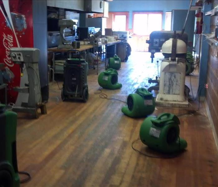 Water Damage to Lake Almanor Business