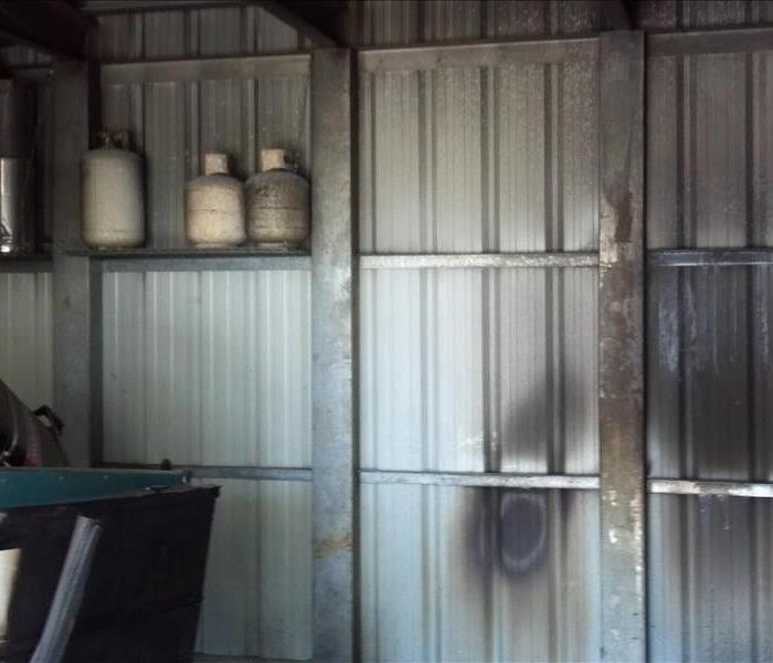 Storage Shed in Paradise Suffers Fire Damage
