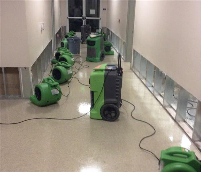 Commercial SERVPRO Saves the Day for a Local Business!