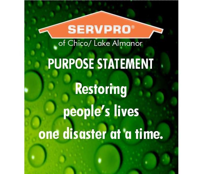 SERVPRO purpose statement