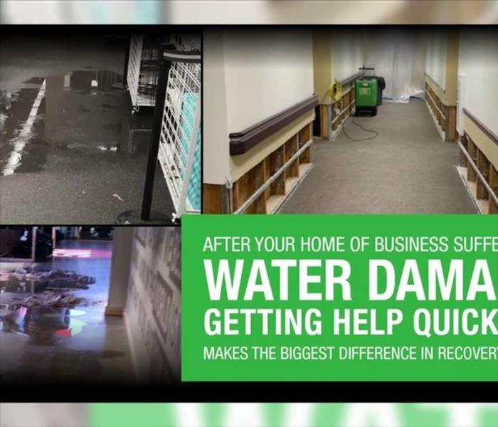 Commercial water damages